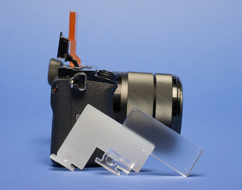Flash Bounce Cards for Sony mirrorless cameras